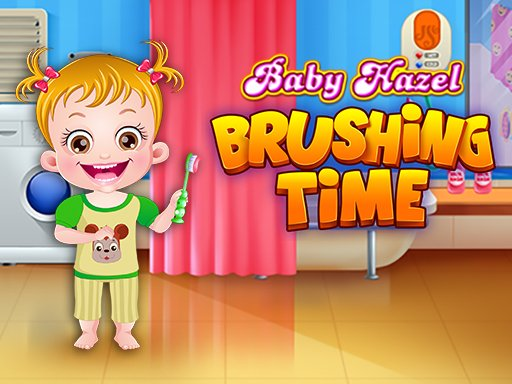 Baby Hazel Brushing Time