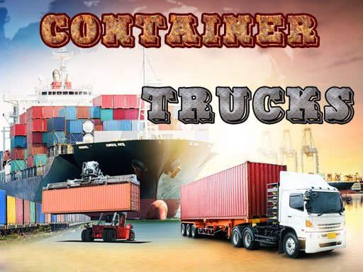 Container Trucks Jigsaw