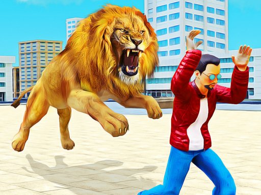 Lion Simulator Attack 3d Wild Lion Games
