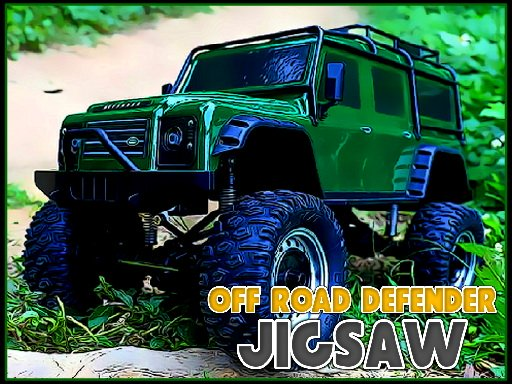 Off Road Defender Jigsaw